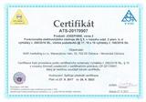 certifikat josephine funkcionalita