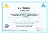 certifikat josephine prostredi