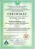 certifikat nar 27001:2014