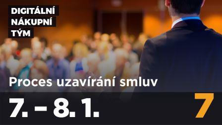 Kurz Digitální nákupní tým, modul 7: PROCES UZAVÍRÁNÍ SMLUV (contract-management)