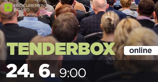 TENDERBOX - pravidelné školenie
