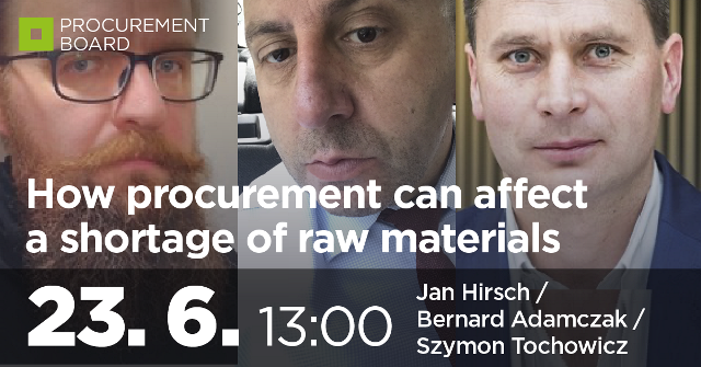 How procurement can affect a shortage of raw materials