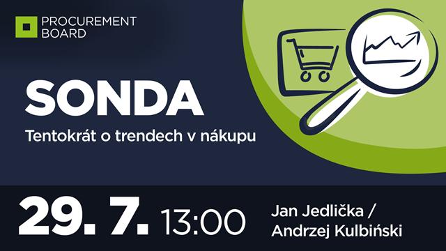 SONDA: tentokrát o trendech v nákupu
