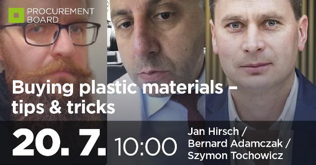 Buying plastic materials - tips & tricks