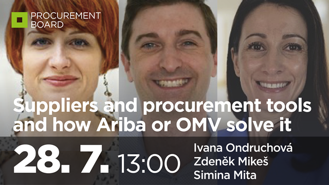 Suppliers and procurement tools and how Ariba or OMV solve it