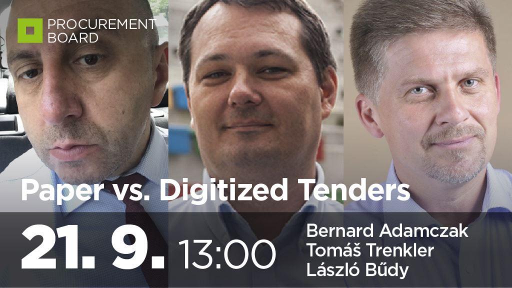 Paper vs digitized tenders
