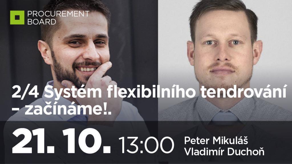 2/4 Systém flexibilního tendrování – začínáme!