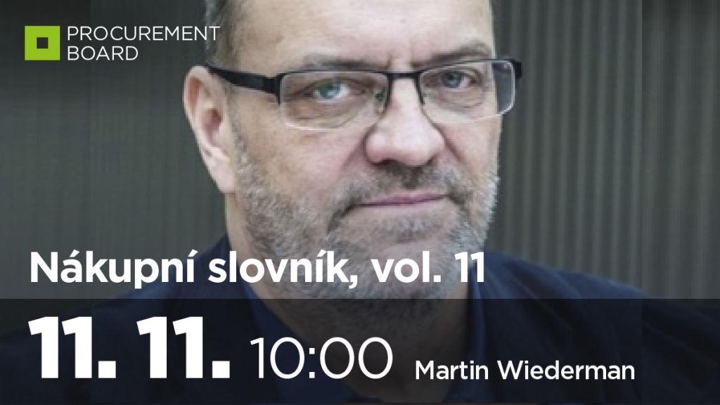 Nákupní slovník vol. 11