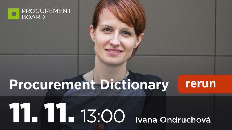 Procurement dictionary vol.9