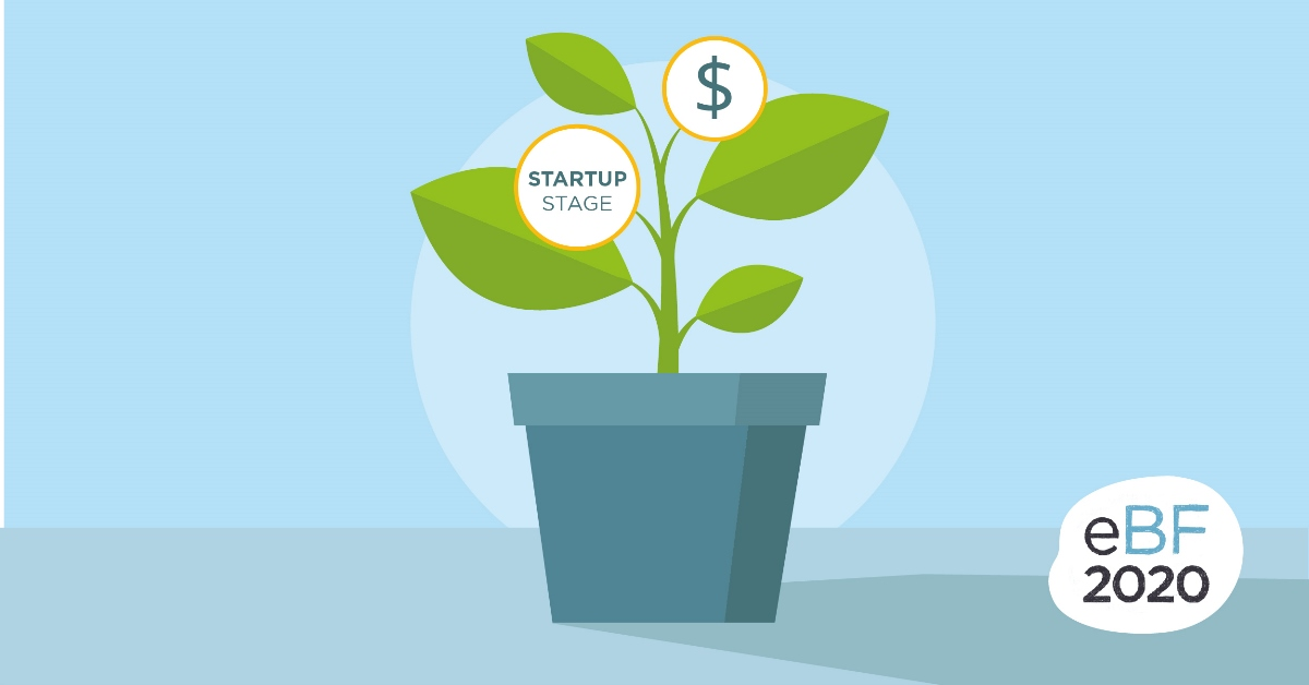 For the first time at eBF: STARTUP STAGE, or how to buy ideas