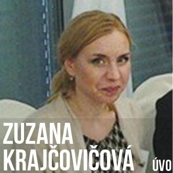 1. MÍSTO / instituce - Zuzana Krajčovičová